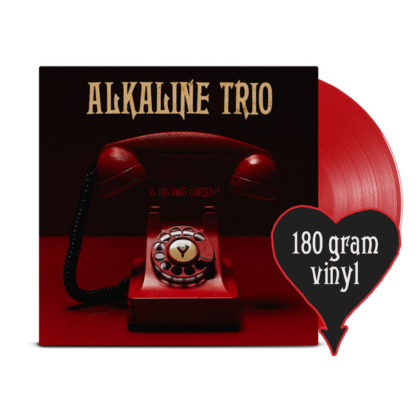 Alkaline Trio - Is This Thing Cursed? LP (Opaque Red 180 gram)