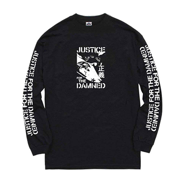 Justice For The Damned - Longsleeve Tee