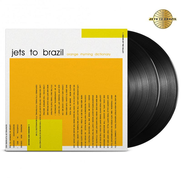 Jets To Brazil - Orange Rhyming Dictionary 2LP (Black 180)