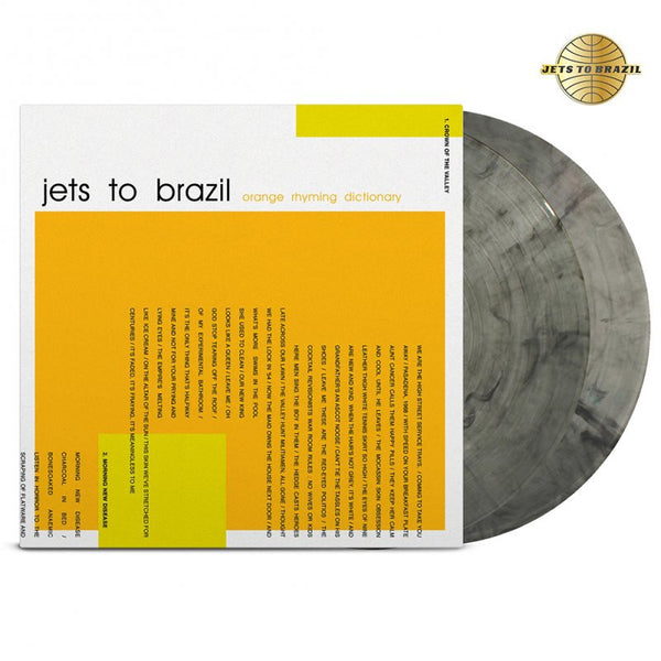 Jets To Brazil - Orange Rhyming Dictionary 2LP (Clear/Black)