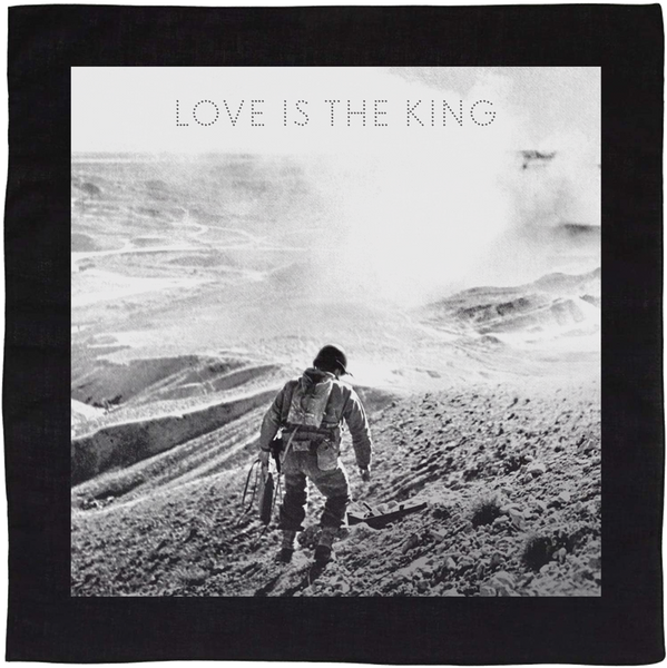 Jeff Tweedy - Love Is The King Bandana (Black)