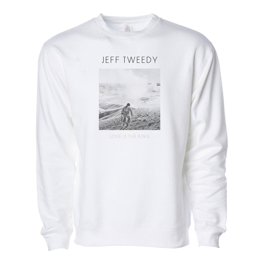 Jeff Tweedy - Love Is The King Crewneck (White)