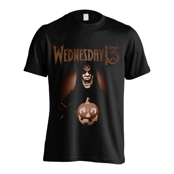 Wednesday 13 - Jack O Lantern T-shirt (Black)