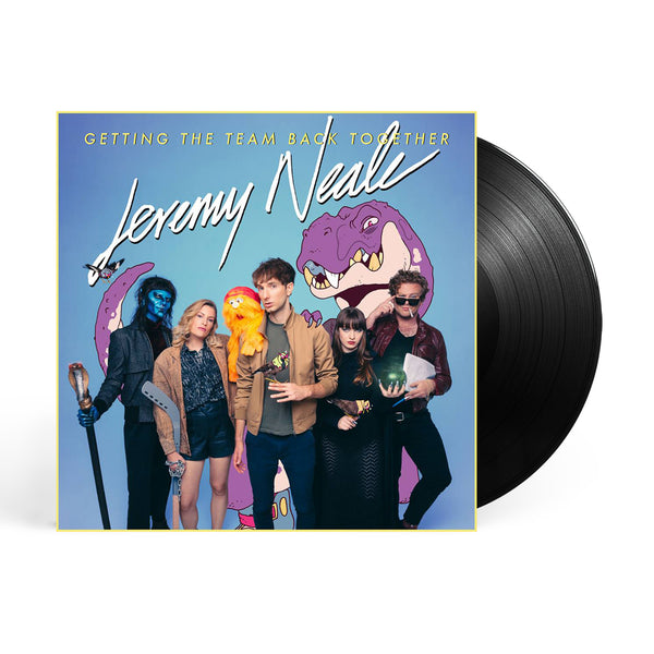 Jeremy Neale - Getting The Team Back Together LP Black