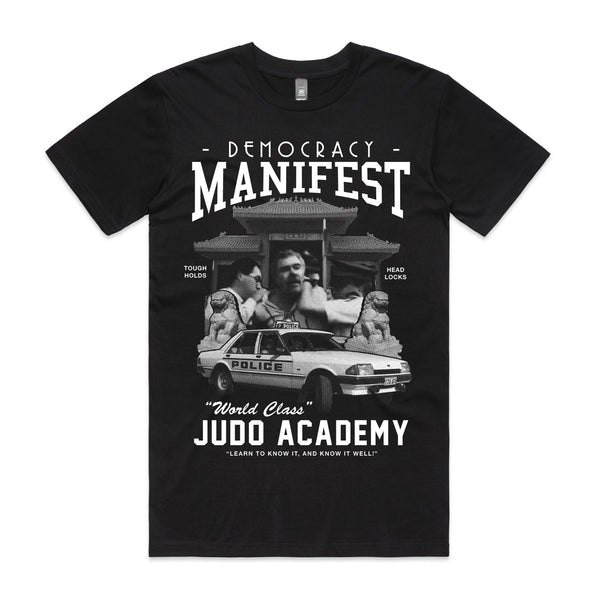 Mr. Democracy Manifest - Judo Academy Tee (Black)