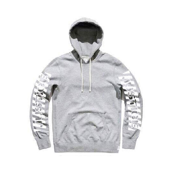 Justice For The Damned - Justice Pullover Hoodie (Grey)