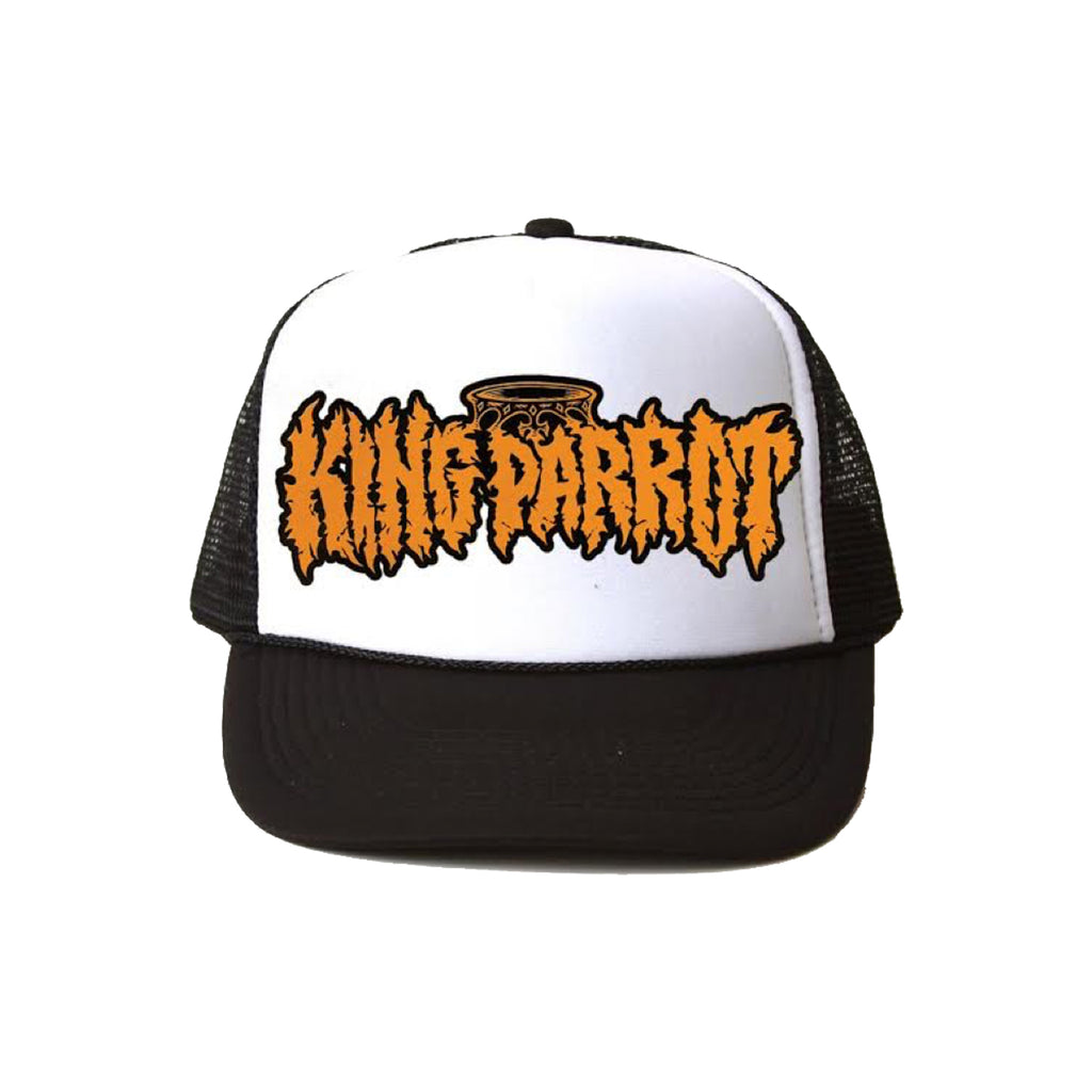 King Parrot - Logo Trucker (Black/White)