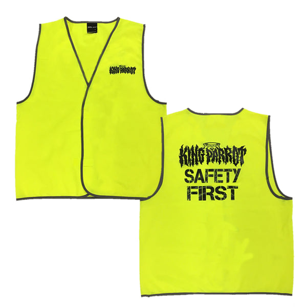 King Parrot - Safety First Hi-Vis Vest
