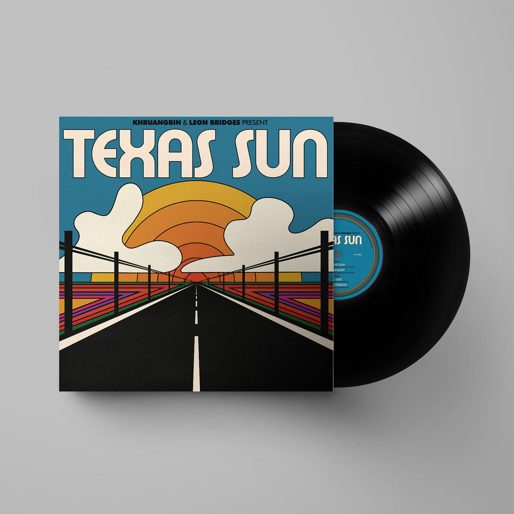 Khruangbin & Leon Bridges - Texas Sun LP (Black)