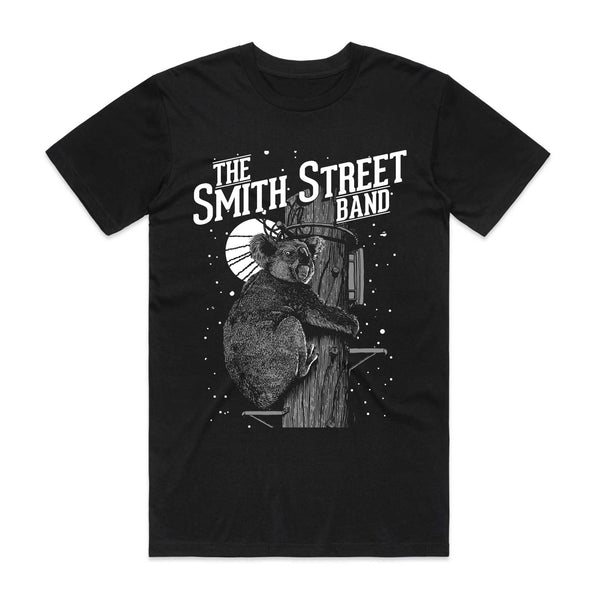 The Smith Street Band - Koala Tee (Black)