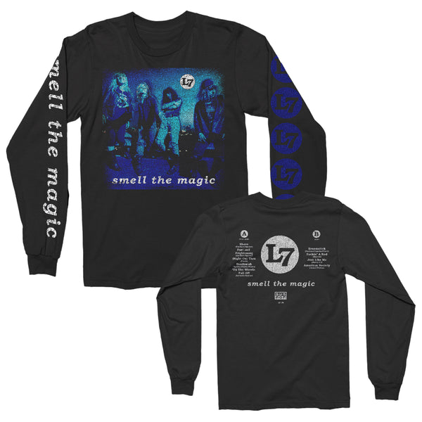 L7 - Smell the Magic Vintage Album Longsleeve (Black)