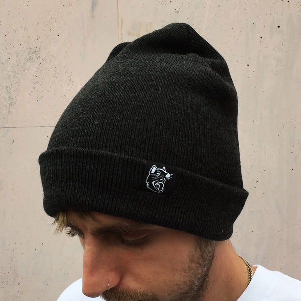 Luca Brasi - Devil Patch Beanie (Asphalt Marle) Photo 2
