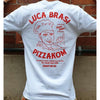 Luca Brasi x Pizzakom Tee (White) back photo