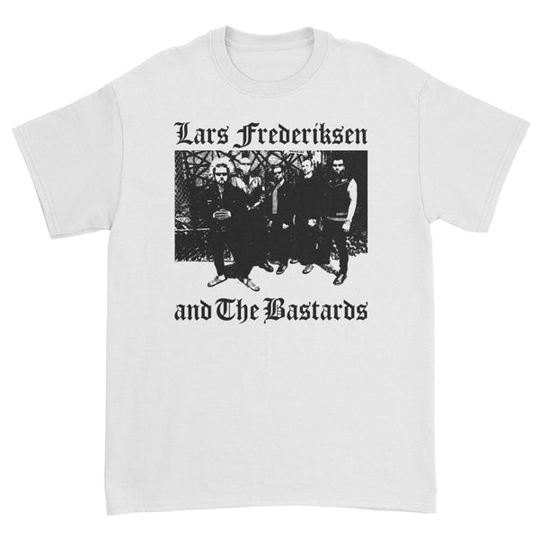 Lars Frederiksen - Photo T-Shirt (White)