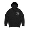 Laura Jane Grace and the Devouring Mothers - Drippy Angel Hoodie (Black) Front