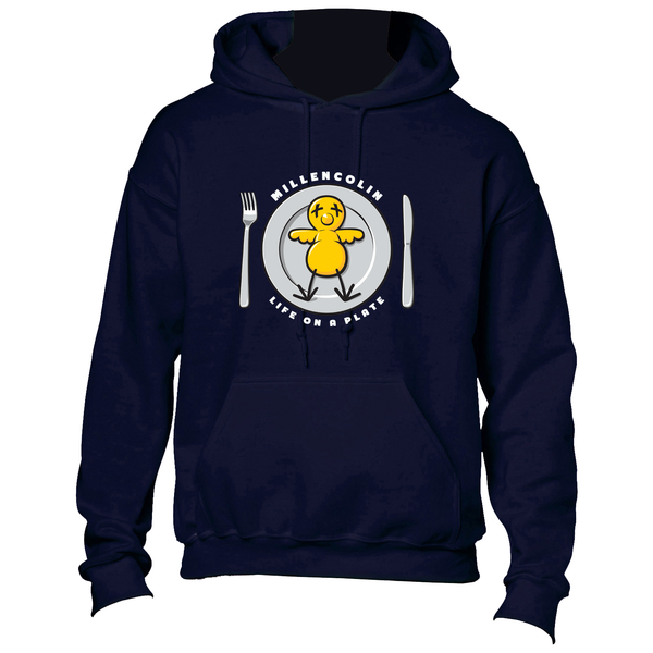 Millencolin - Life on a Plate Hoodie (Navy)