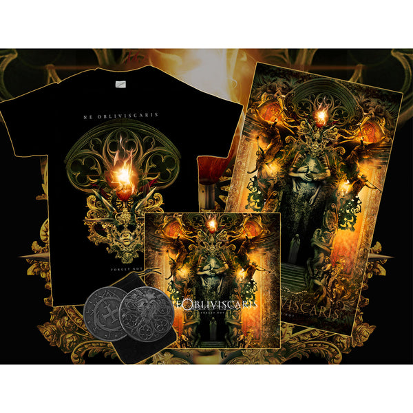 Ne Obliviscaris - Forget Not Vinyl (Limited Edition) + T-shirt + Poster + Pennies