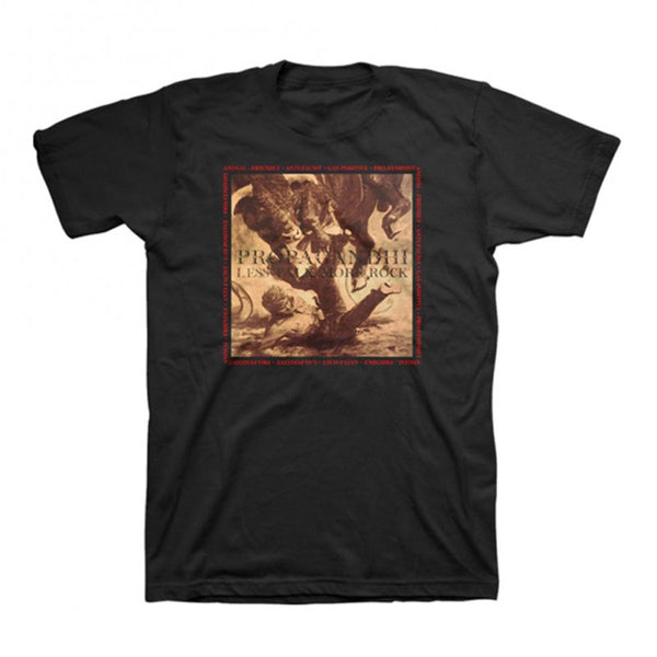 Propagandhi - Less Talk More Rock Tee Black