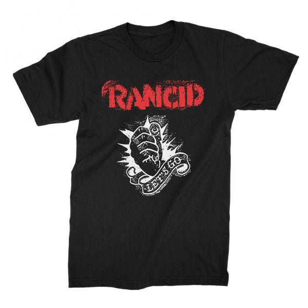 Rancid Let's Go T-shirt Black