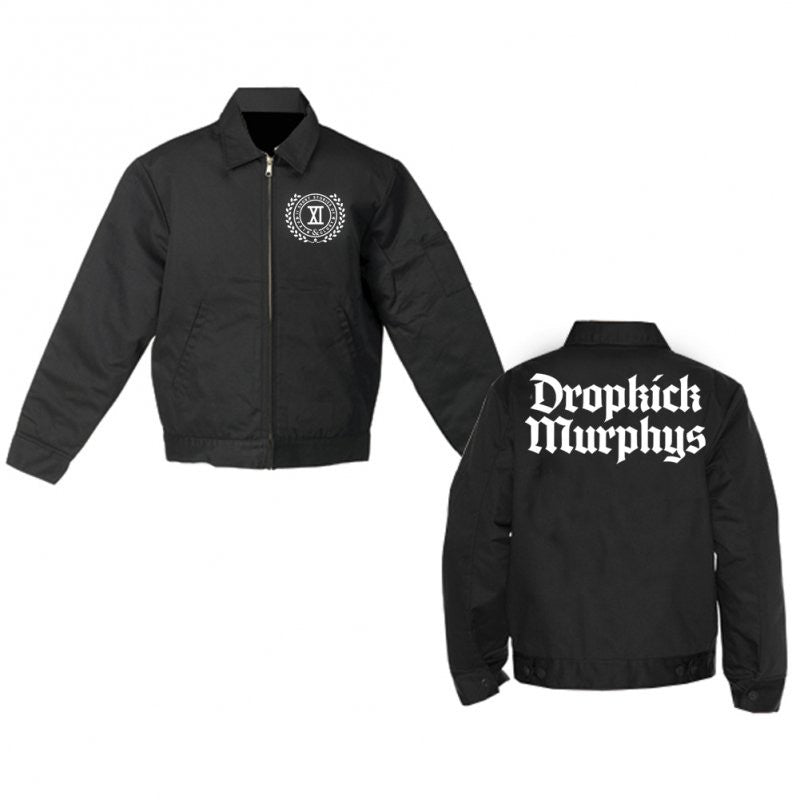Dropkick Murphys - Limited Crest Logo Flannel-Lined Jacket