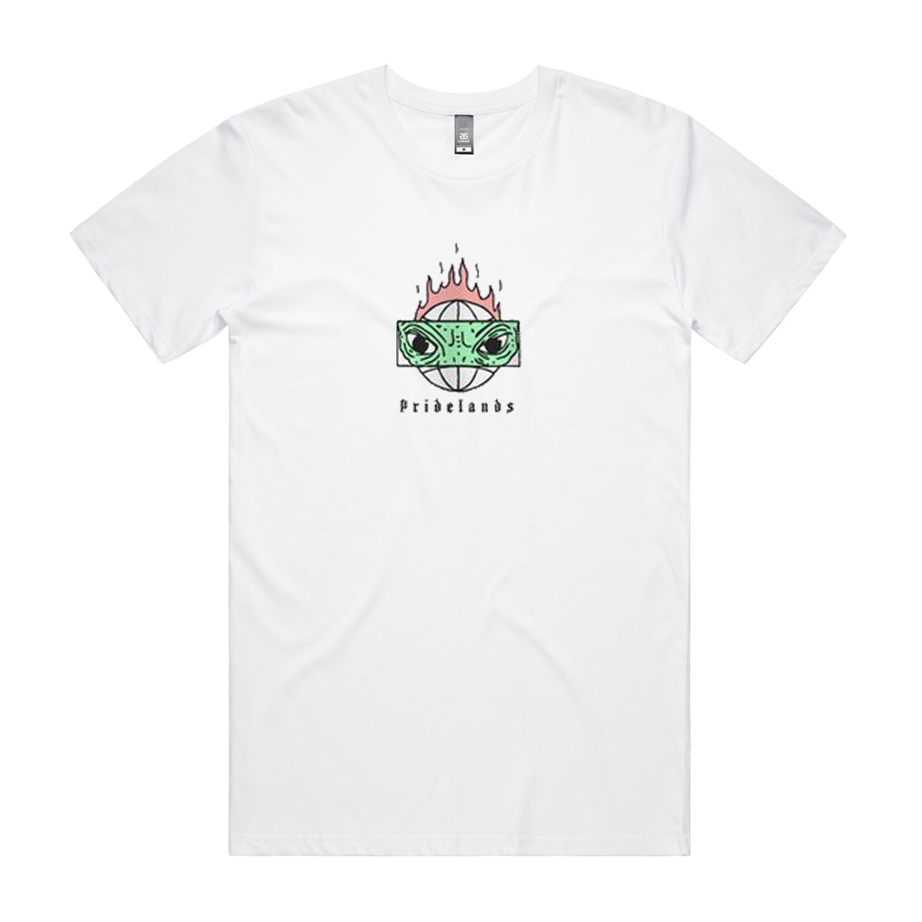 Pridelands - Lizard Eyes Tee (White)