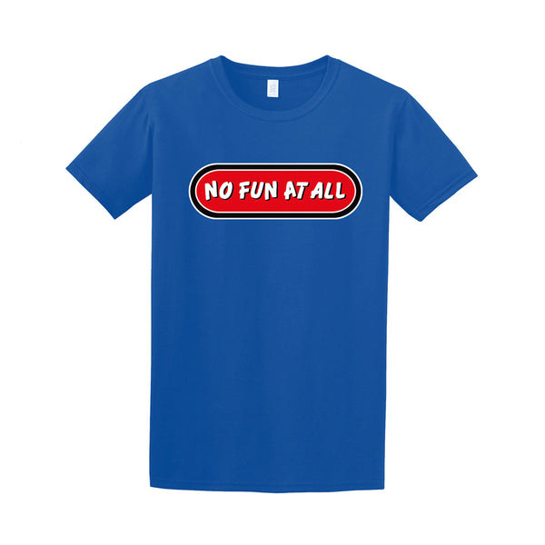 No Fun At All - Logo Tee (Blue)