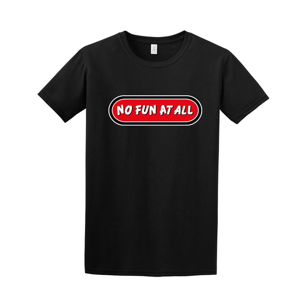 No Fun At All - Logo Tee (Black)