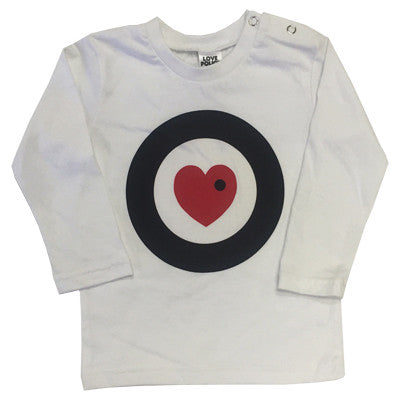 Love Police Kids Long Sleeve (White)