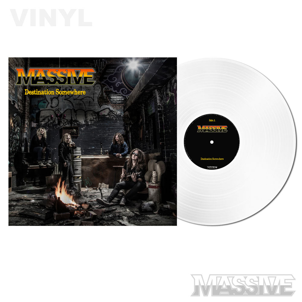 Massive - Destination Somewhere LP White