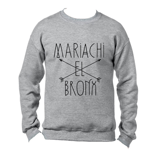 Mariachi El Bronx - Arrows Crewneck (Grey)