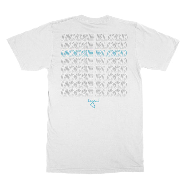 Moose Blood - Repeater T-shirt (White) Back