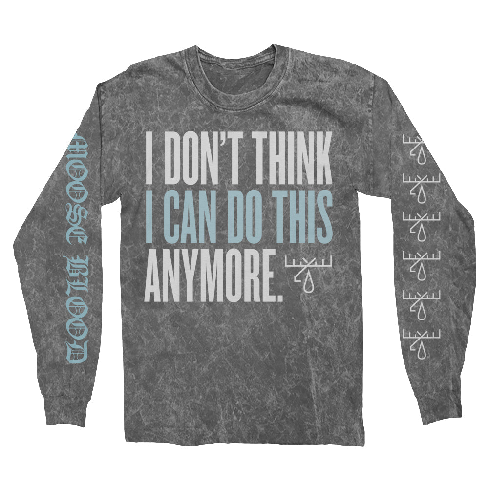Moose Blood - IDTICDTA Longsleeve (Acid Wash)