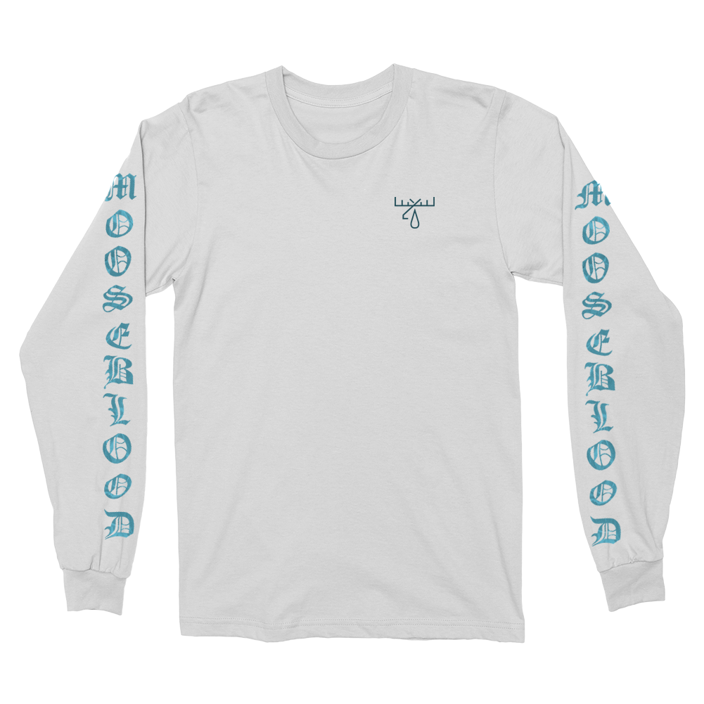 Moose Blood - Wavy Longsleeve (White)