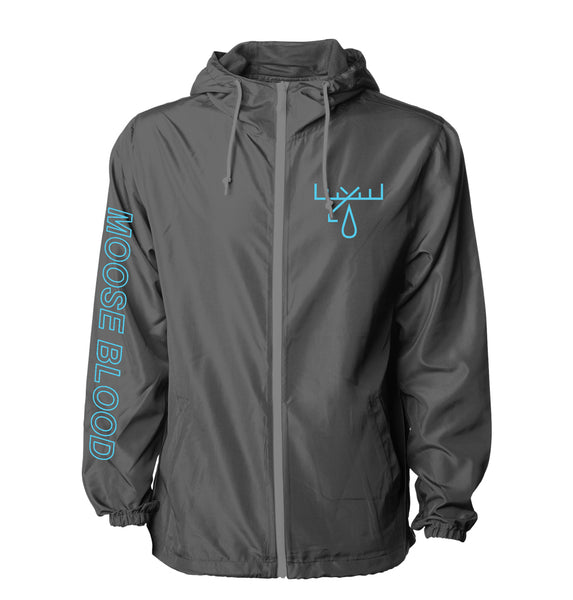 Moose Blood - Icon Windbreaker (Charcoal)