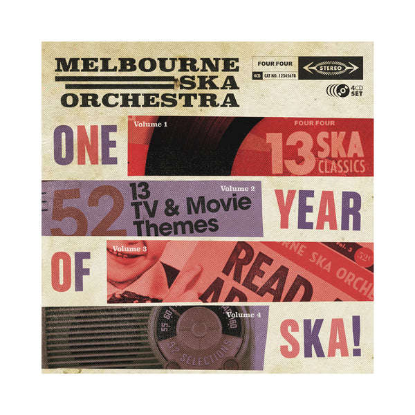 Melbourne Ska Orchestra - One Year of Ska 4CD Box Set