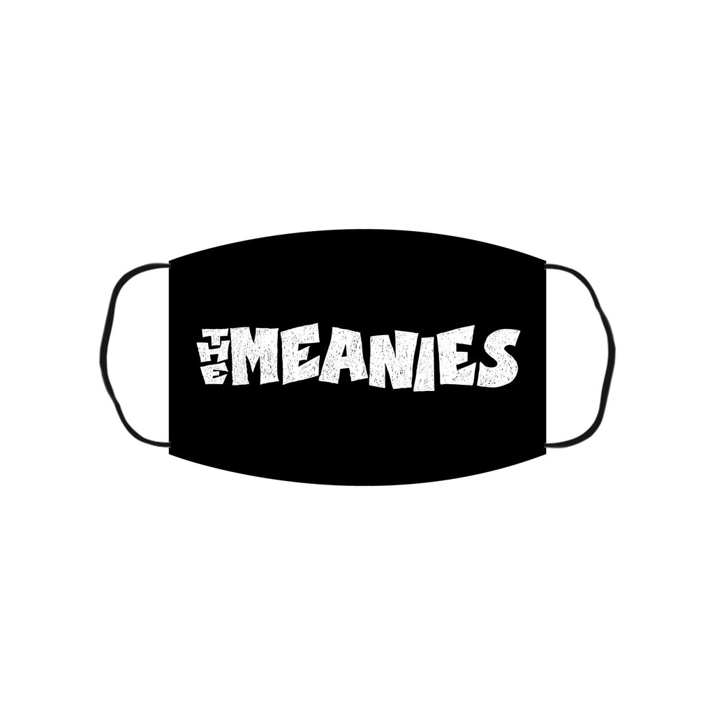 The Meanies - Logo Face Mask (Black)