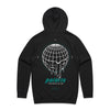 Polaris - Melting Globe Hoodie (Black) Back