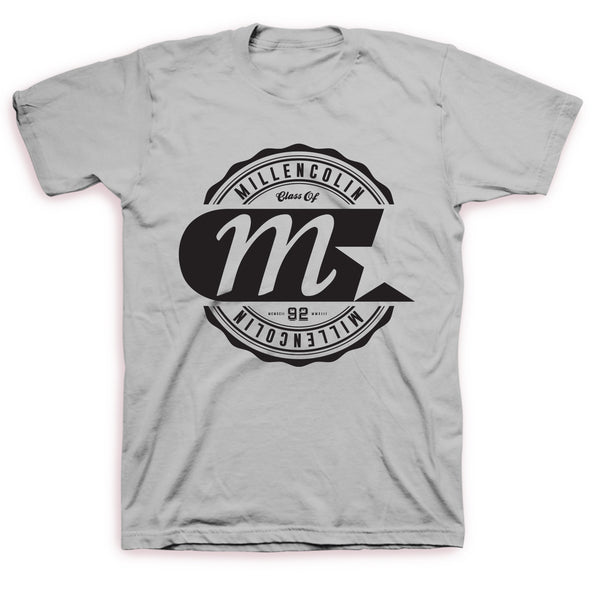 Millencolin Logo Label T (Grey)