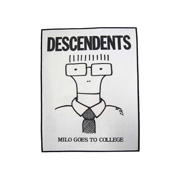 Descendents - Milo Goes To College Back Patch
