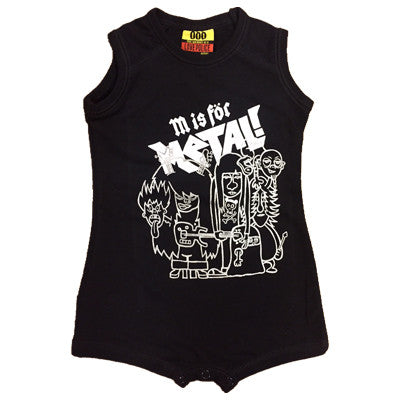 M is For Metal Infants Onesie