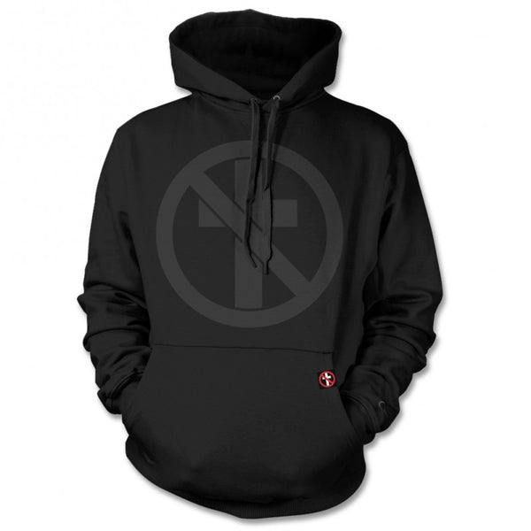 Bad Religion Monochrome Crossbuster Pullover Hoodie