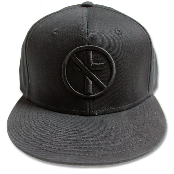 Monochrome Crossbuster 3D Hat (Black)