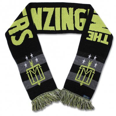 The Menzingers Monogram Bar Scarf
