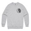 The Smith Street Band - Moon Logo Crewneck (Grey Marle)