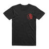 The Smith Street Band - Black Moon Tee (Red Print)