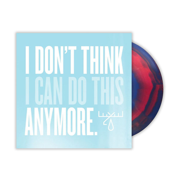 Moose Blood - I Don't Think I Can Do This Anymore LP (Pink/Blue)