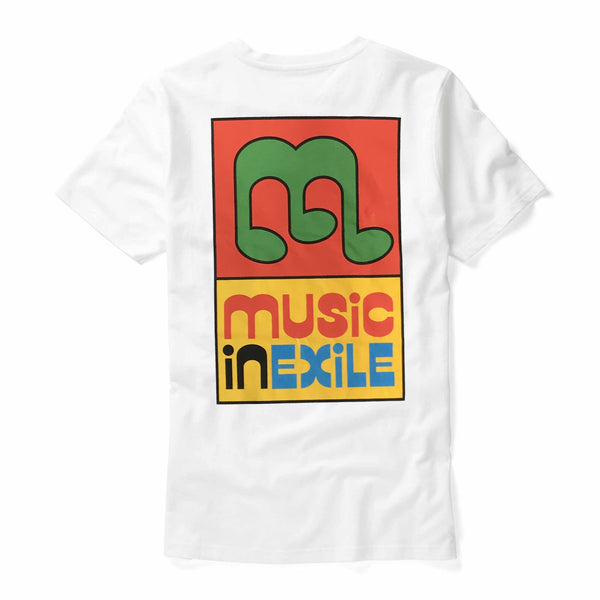 Music in Exile - Music In Exile Tee (White) Back