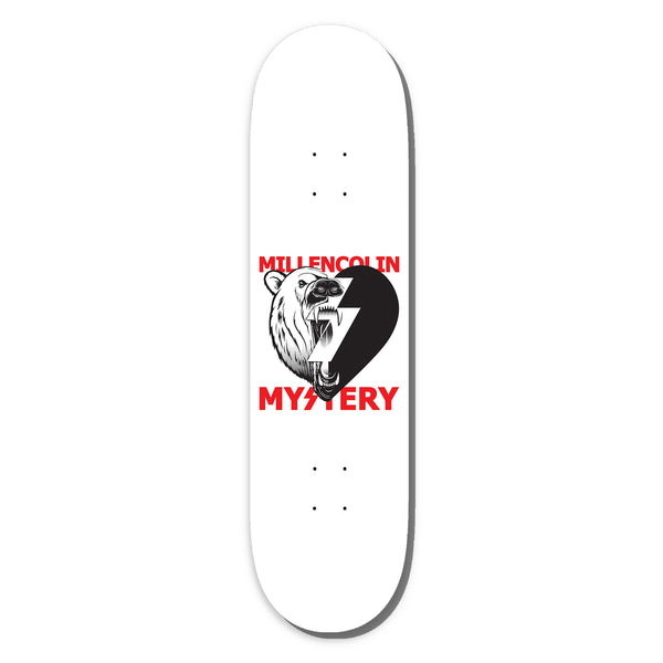 Millencolin - Millencolin x Mystery Skate Deck (White) Limited Edition