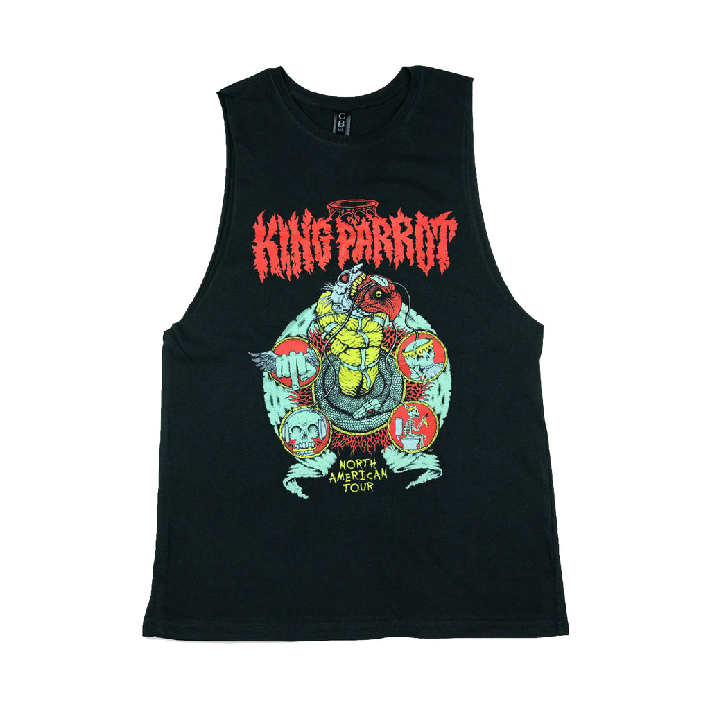 King Parrot - North American Tour Tank (Mens)