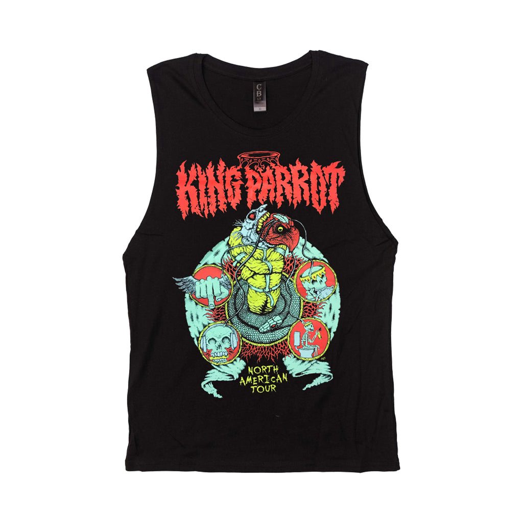 King Parrot - North American Tour Tank (Womens)